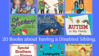 20+ Books about Siblings with Disabilities