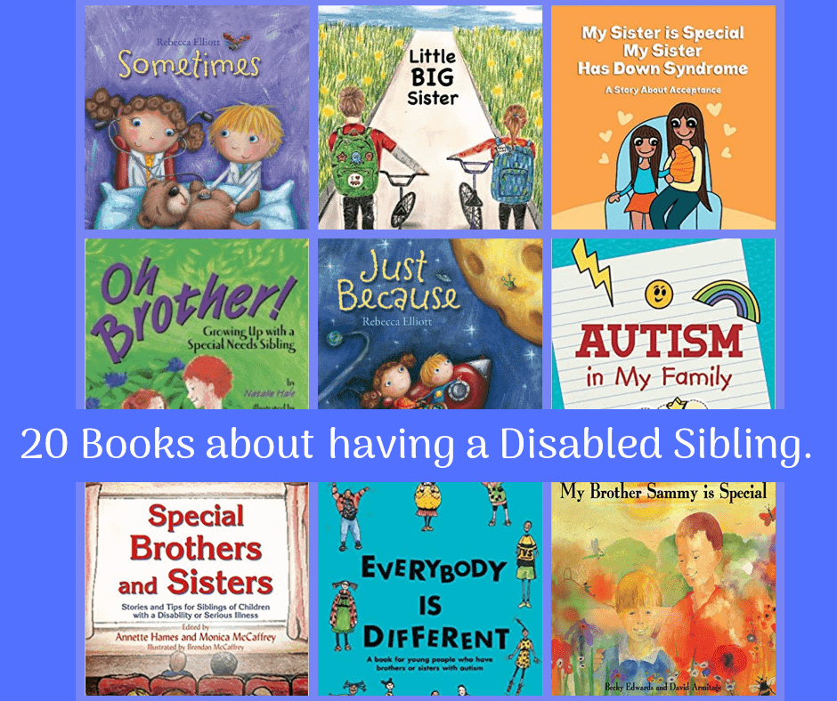 Books for Siblings with disabilities