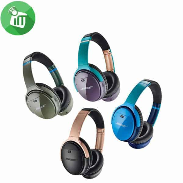 bose colorful sound cancelling headphones