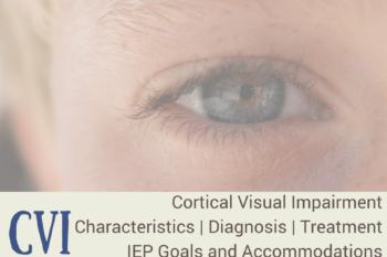 CVI: Cortical Visual Impairment | Characteristics | Treatment | IEP Goals and Accommodations