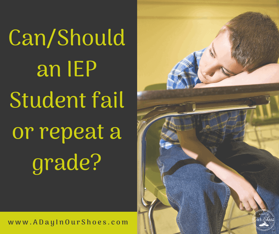 young boy with iep sad because he might fail