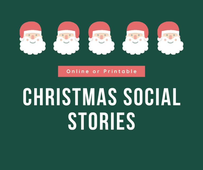 8 Christmas Social Stories for Kids | Autism | Sensory