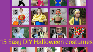15 DIY Halloween Costumes for Kids {Super simple, for the last minute mom!}