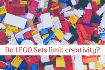 Do LEGO Sets limit creativity lego sets with instructions limit creativity scattered yellow green blue and red blocks