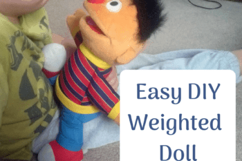 Easy DIY Weighted Doll