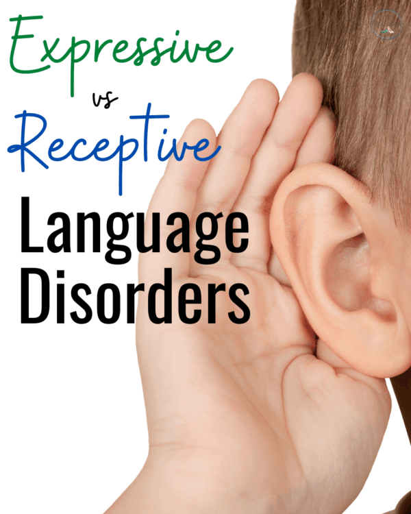 For Parents: Receptive Language vs Expressive Language Disorder | Receptive vs Express Language Skills and Strategies |  IEP Goals