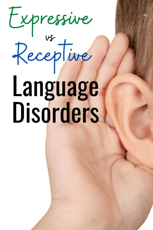 Expressive receptive language disorder pinterest
