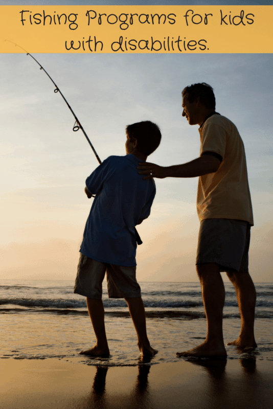 Fishing Kids with Disabilities