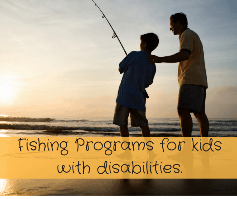 Let's go fishing! Youth Fishing Programs for Disabled Children (and not).