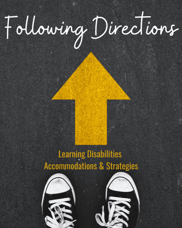 Following Directions and Learning Disabilities | Accommodations and Strategies for School and Home