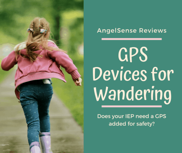 angelsense gps device running from school