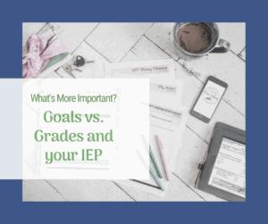 goals grades iep