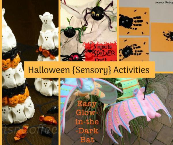 Halloween {Sensory} Activities