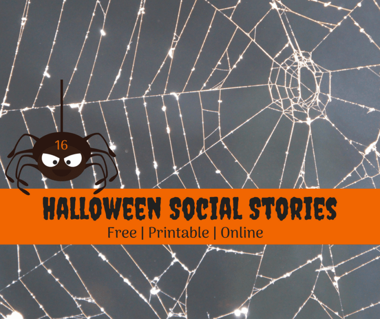 🎃 8 Halloween Social Stories | Trick or Treat too! 🎃