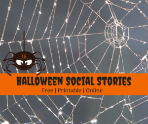 Halloween Social Stories free