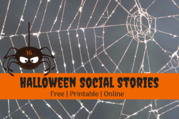 {Halloween} 16 Free, Printable Social Stories for Autism