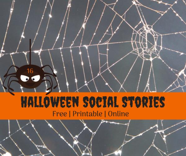 Halloween Social Stories free