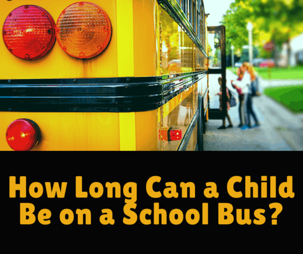 How Long Can a Child Be on a School Bus