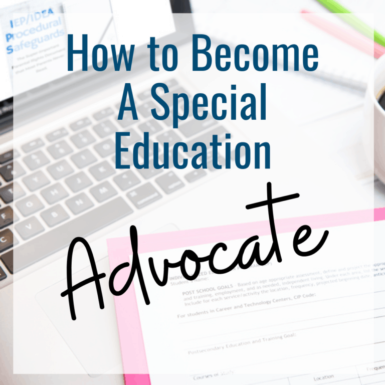 How to Become a Special Education Advocate | IEP Advocacy Training