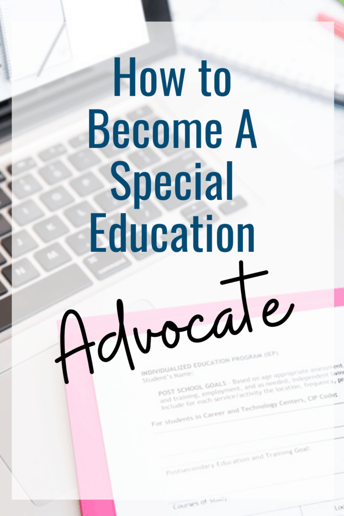 How To Become IEP Advocate