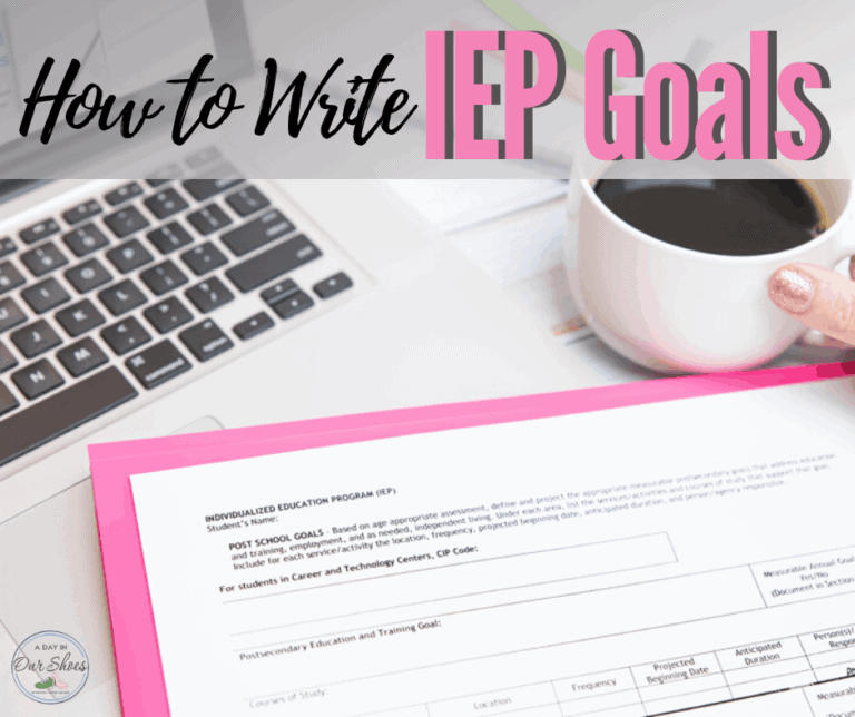How to Write Meaningful and Measurable IEP Goals.