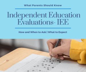 IEE evaluations