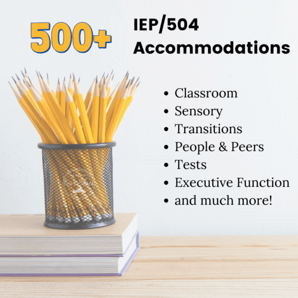iep and 504 accommodations