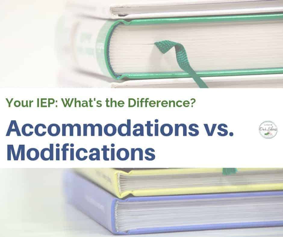 The Difference Between Accommodations And Modifications >> What S The Difference Between Iep Accommodations And Modifications