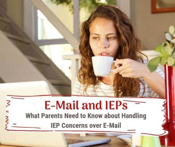can you email an IEP