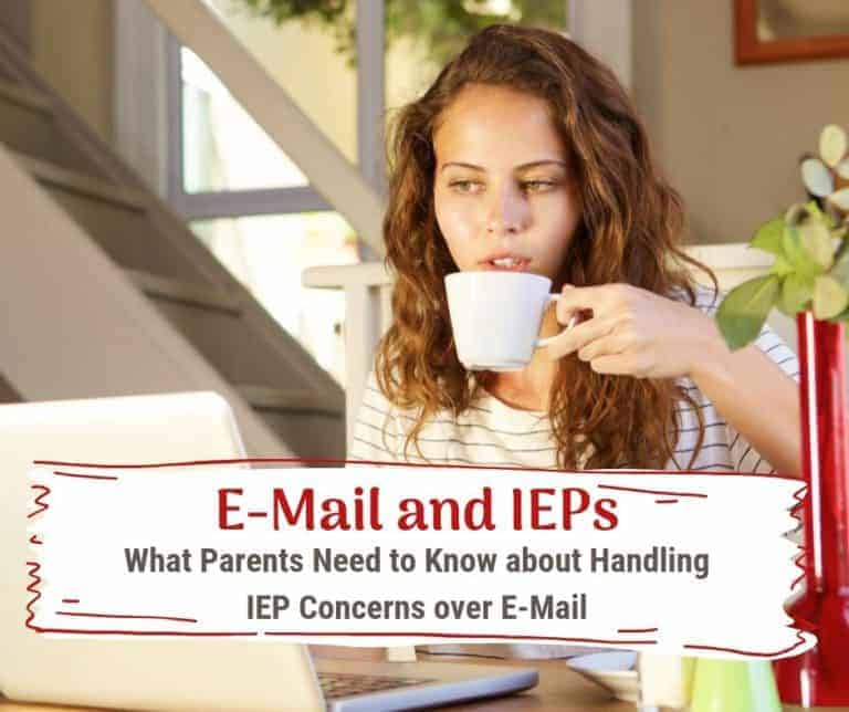 """{IEP and Email} What to Know Before You Click """"Send."""""""