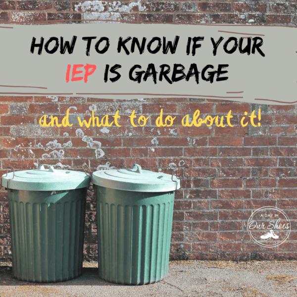 IEP is garbage