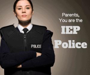 iep parent participation