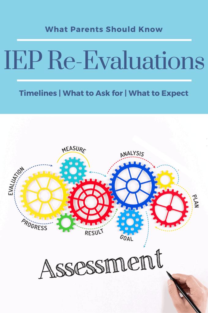IEP re evals