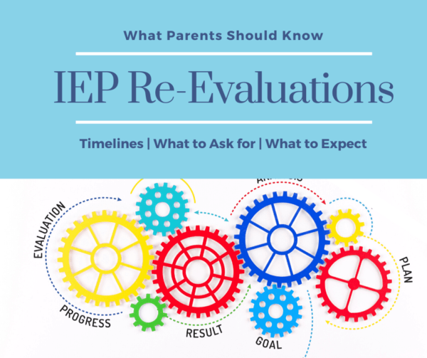 IEP re evaluations