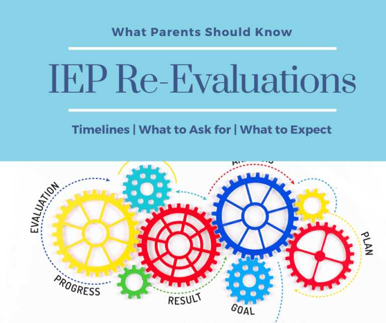 IEP Re-Evaluations | What Parents Need to Know | Timelines