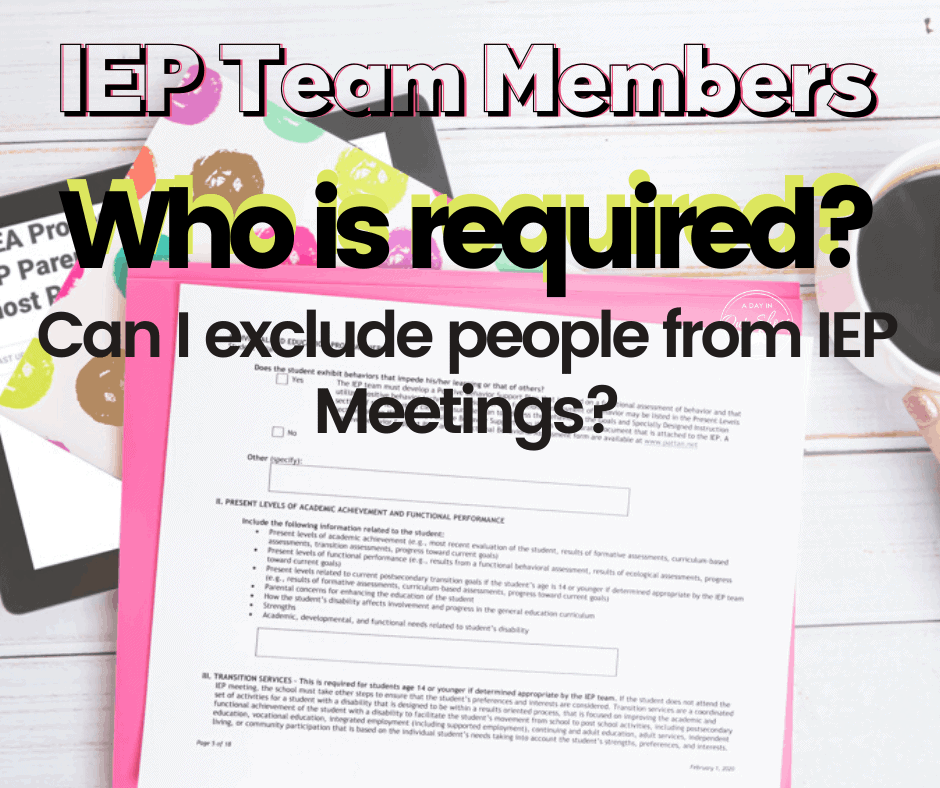 exclude from iep meeting