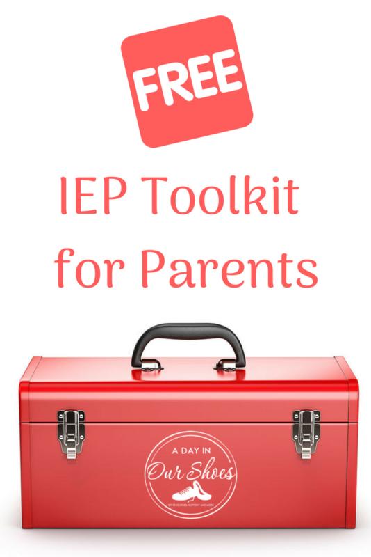 free printable IEP meeting checklist