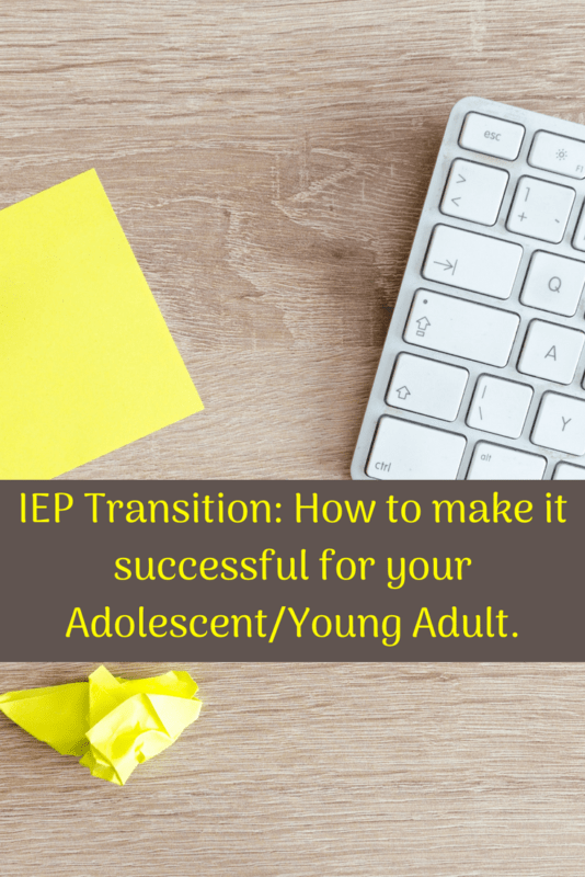 IEP transition tips