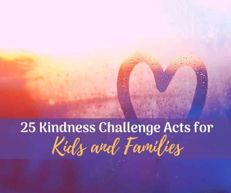 Kindness Challenge for Kids | 30 Ideas for Home or the Classroom
