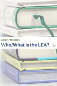 LEA Local Education Agency school textbooks