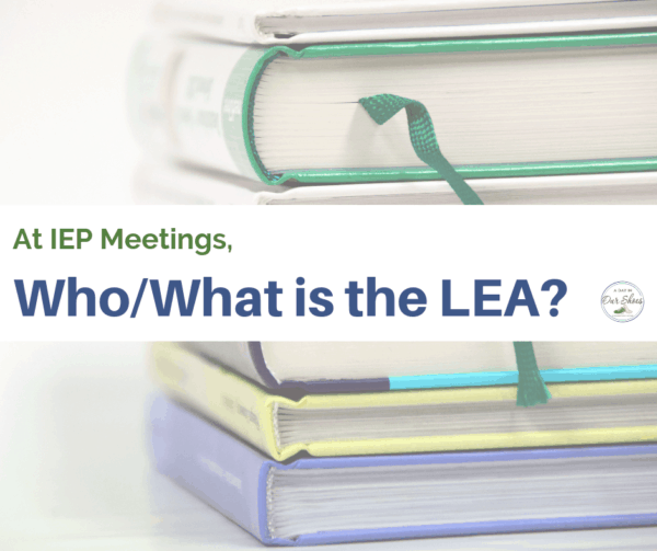 What does LEA stand for in Special Education? Explained by an IEP Advocate.