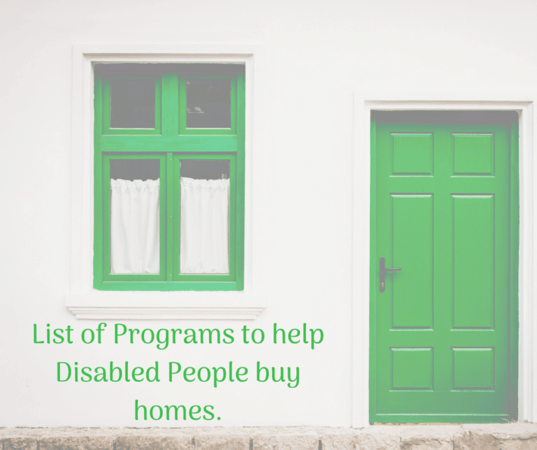 List of 11 programs that help people with disabilities buy homes.