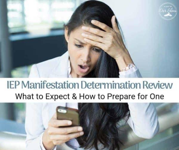 Manifestation Determination Hearing