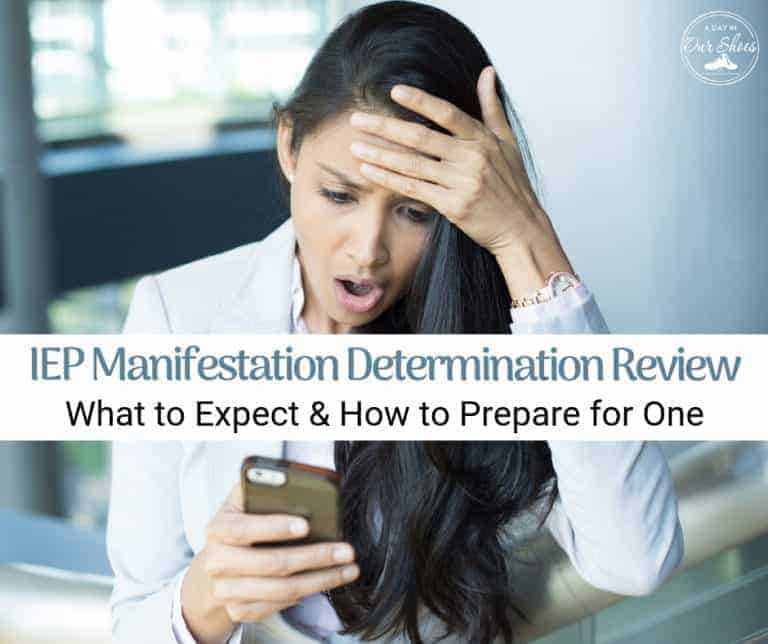 Manifestation Determination Meeting | What It Is | How to Prepare | Examples