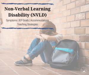 nvld non-verbal learning disorder