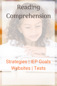 Reading Comprehension strategies little girl with a book reading