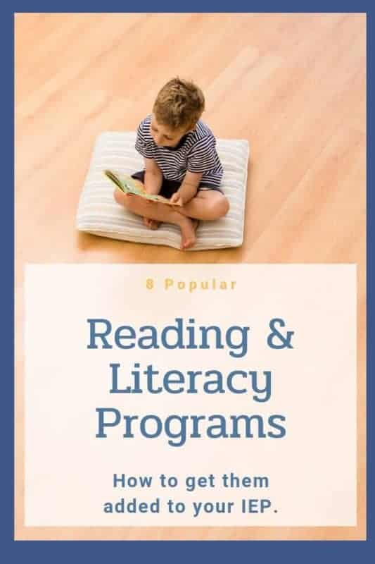 little boy on pillow reading a book and about programs for reading and literacy