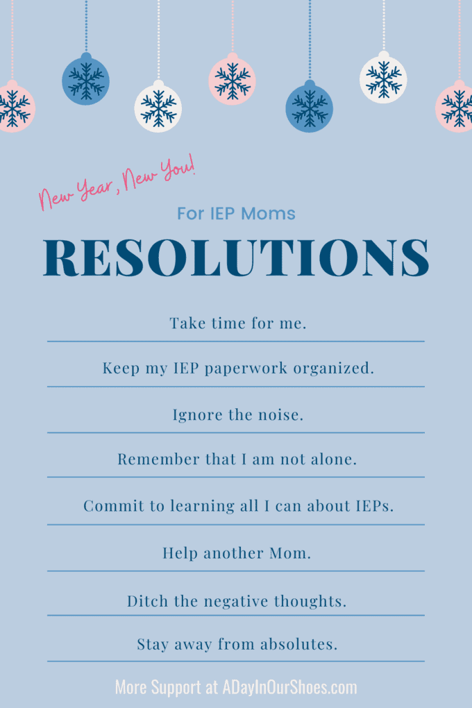 resolutions for moms