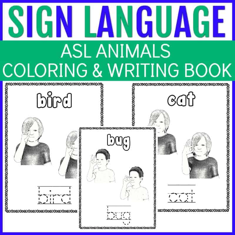 sign language animals
