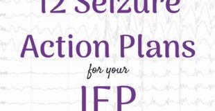 Seizure Action Plan